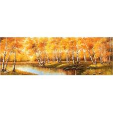 BW219 風景油畫(黄金滿地)