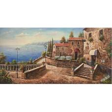 BW238地中海油畫