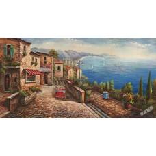 BW239地中海油畫