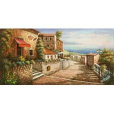 BW240地中海油畫