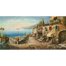 BW241地中海油畫