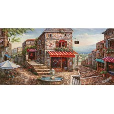 BW245地中海油畫