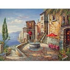 BW246地中海油畫