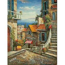 BW247地中海油畫