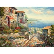 BW249地中海油畫