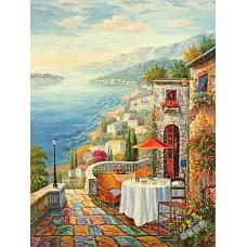 BW251地中海油畫