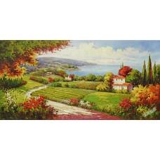 BW254地中海油畫
