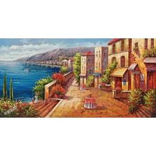 BW255地中海油畫