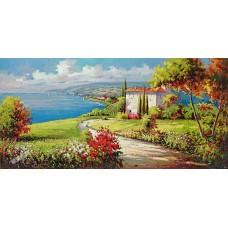 BW257地中海油畫