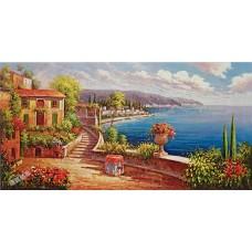 BW258地中海油畫