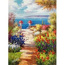 BW261地中海油畫
