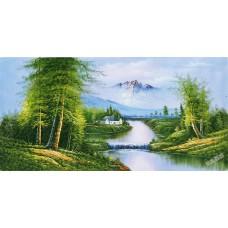 W576油畫山水畫