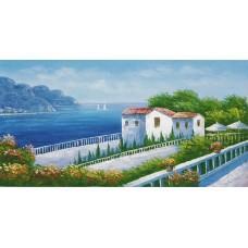 W622油畫地中海