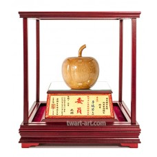 UIB101平安 原木玻璃櫥櫃