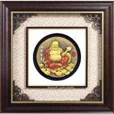 D08-01浮雕圓財神