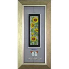 D13-06 浮雕版畫 向日葵