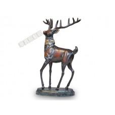 PR-18 銅雕 財鹿