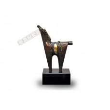 PR-19 銅雕 抽象簡約小銅馬