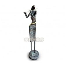 PR-13 銅雕 長笛手